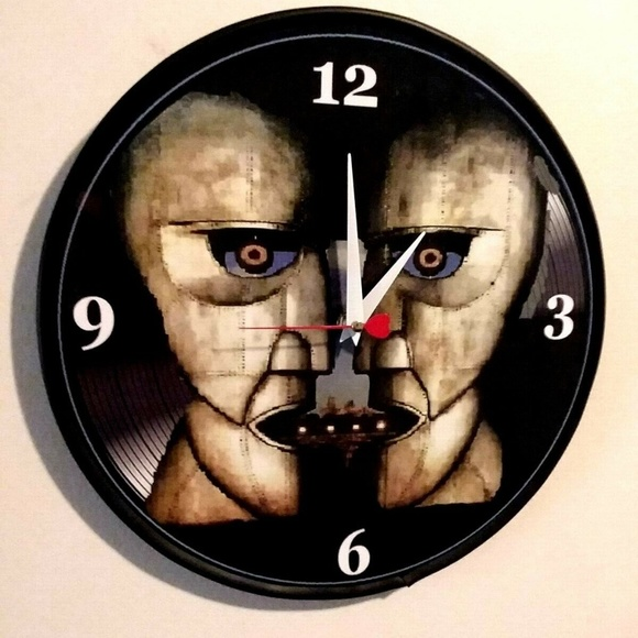 New Homemade Other - PINK FLOYD - DIVISION BELL - 12IN WALL CLOCK NEW